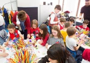 Atelier de jocuri teatrale și construcție de marionete