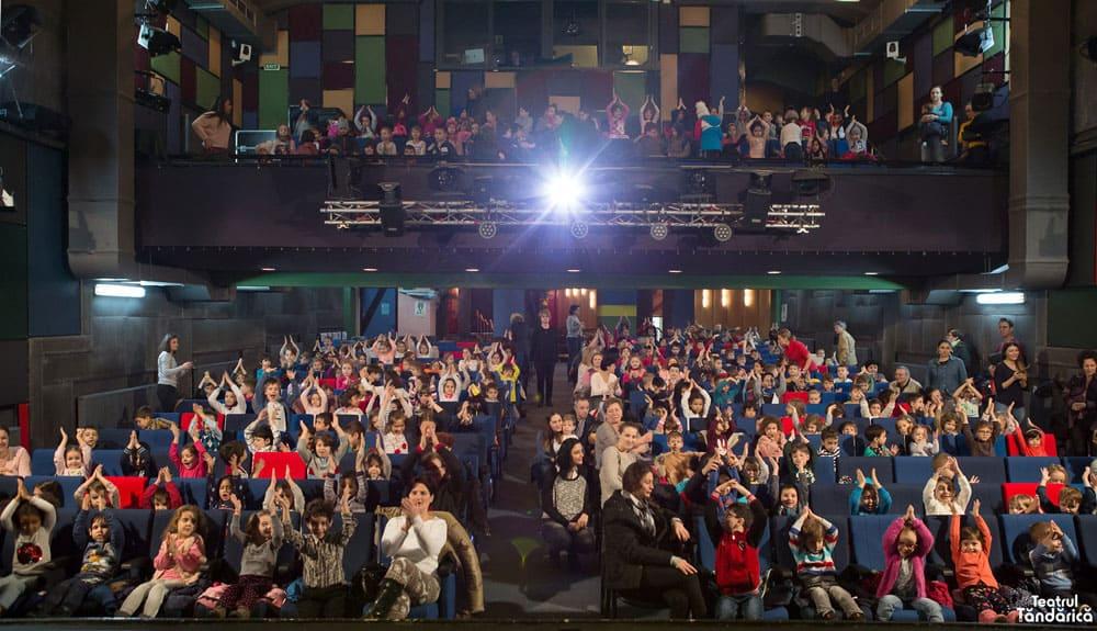 sala cu spectatori