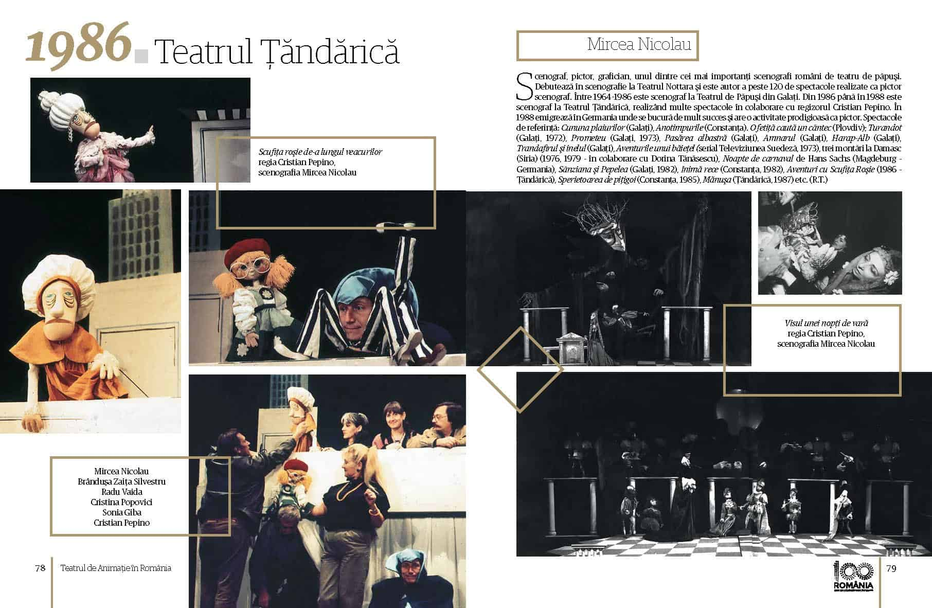 Album Teatrul de Animatie in Romania final preview fata in fata Page 40