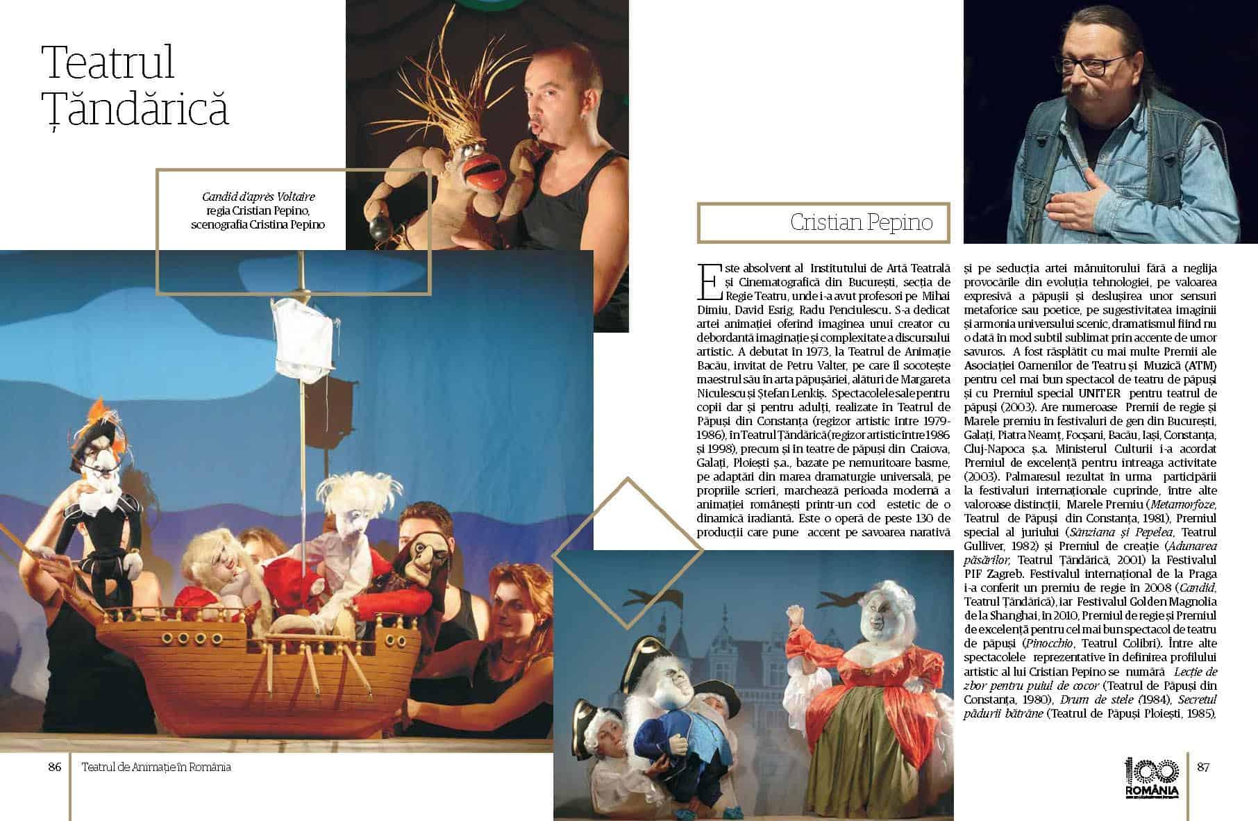 Album Teatrul de Animatie in Romania final preview fata in fata Page 44