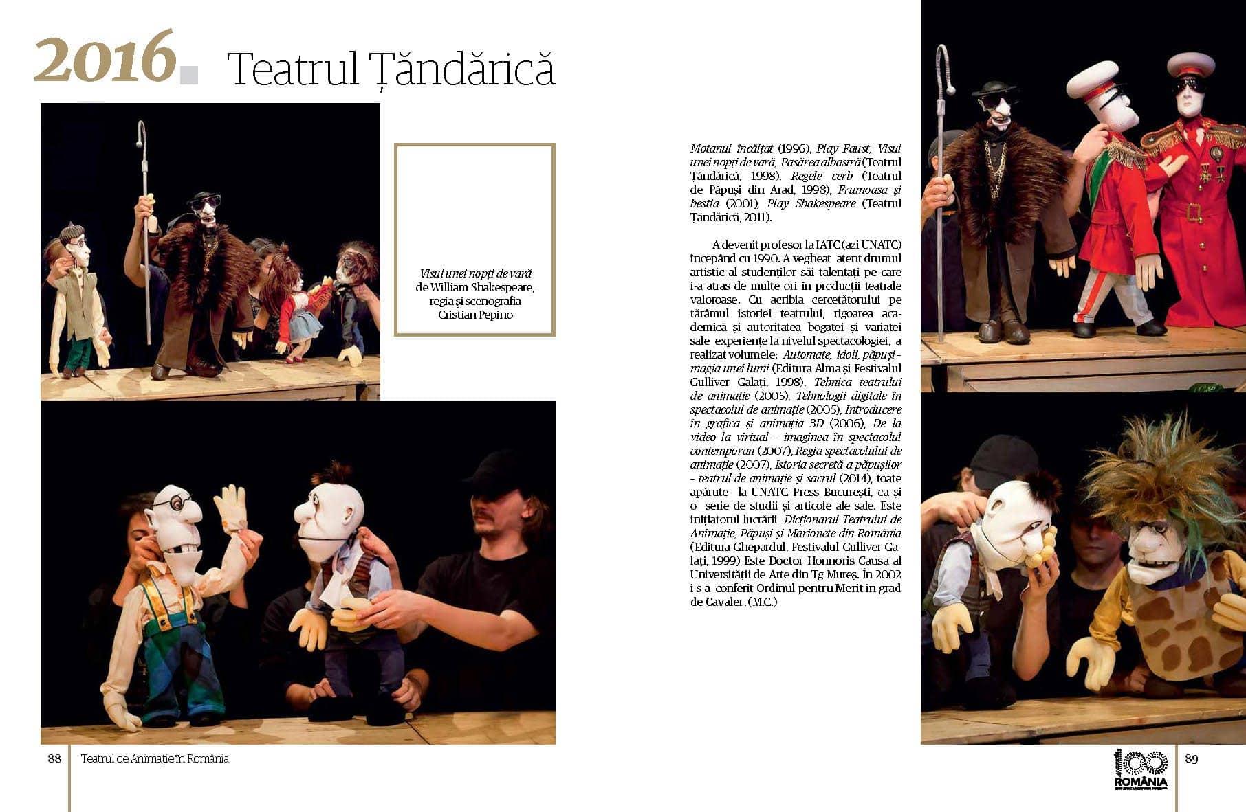 Album Teatrul de Animatie in Romania final preview fata in fata Page 45
