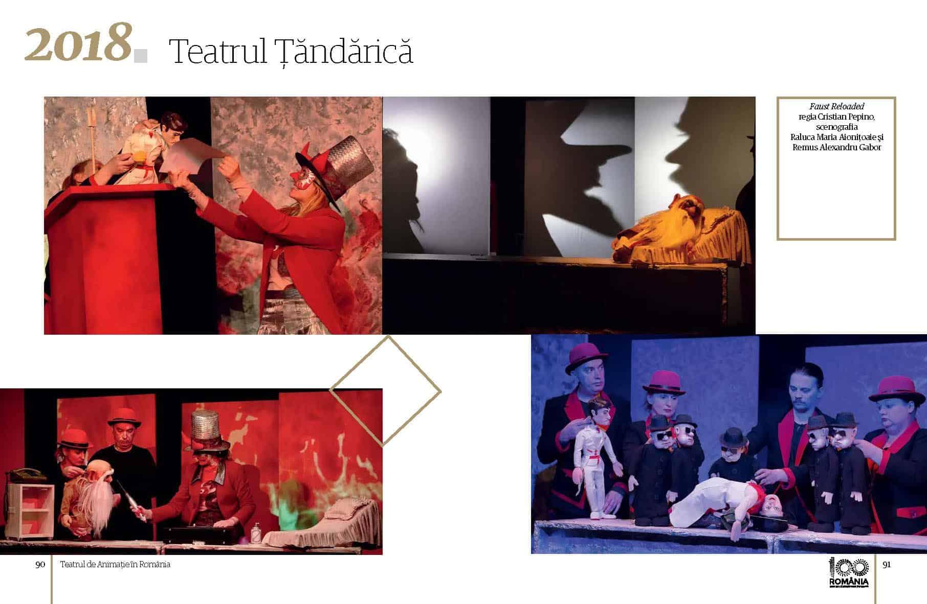 Album Teatrul de Animatie in Romania final preview fata in fata Page 46