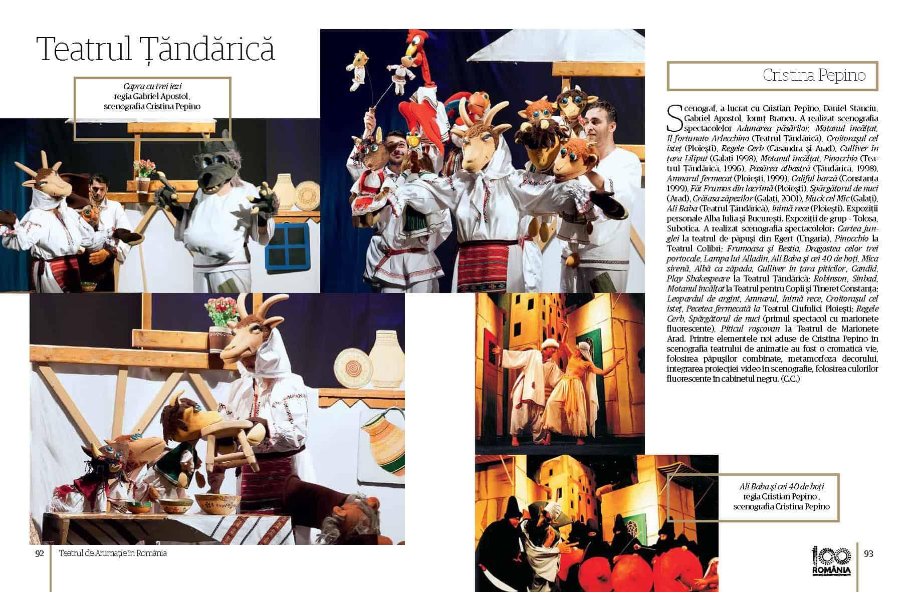 Album Teatrul de Animatie in Romania final preview fata in fata Page 47