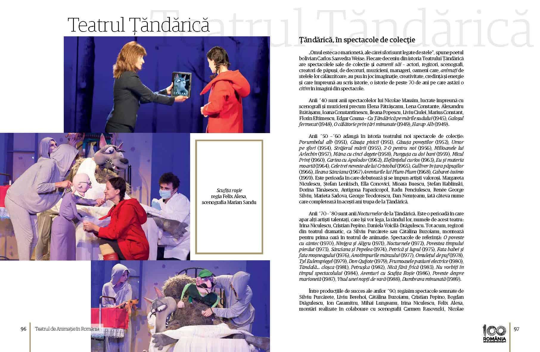 Album Teatrul de Animatie in Romania final preview fata in fata Page 49